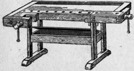Оборудование мастерской верстак, инструменты