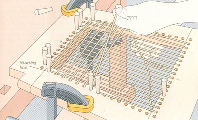 Плетеная мебель своими руками часть 2