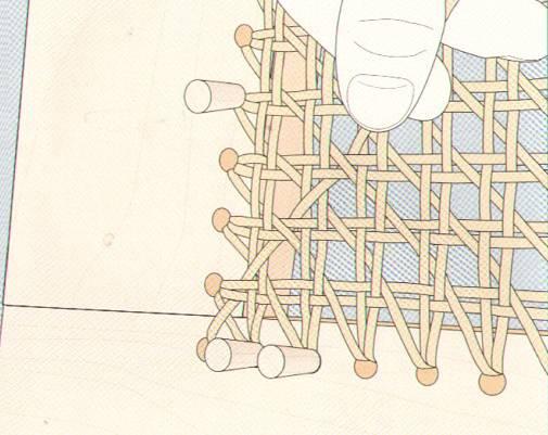 Плетеная мебель своими руками часть 3