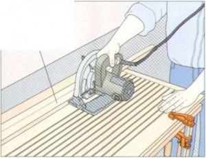 Ремонт столешницы использование клиньев