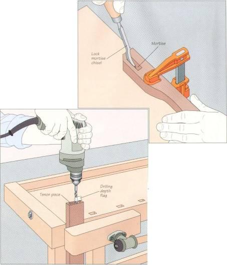 Шиповое соединение ремонт