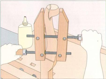 Ремонт ножки стула