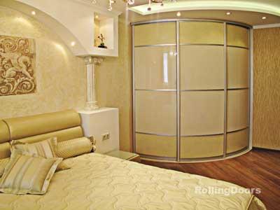 Радиусные двери, как утонченность и красота любого интерьера