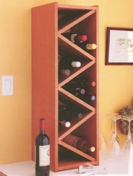 Полка для винных бутылок часть 1