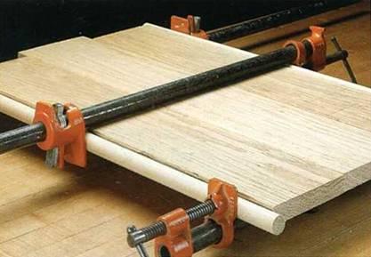 Советы по склеиванию деревянных панелей