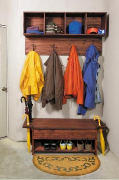 Универсальный шкаф для прихожей часть 1