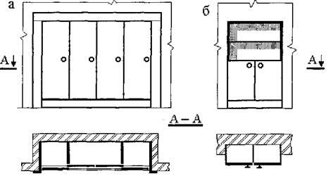 Встроенная корпусная мебель обзор