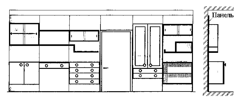 Особенности навесной мебели