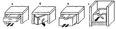 Установка мебельных ящиков