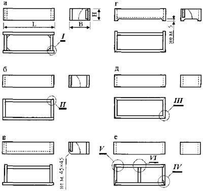 Цокольные мебельные опоры